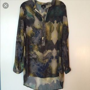 Mossimo Watercolor artsy tunic...Super cute!